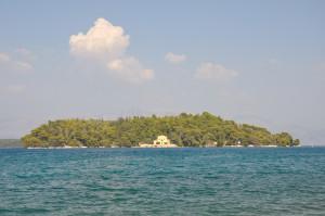 Isola di Madouri - la casa del poeta Aristotelis Valaoritis