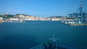 Di nuovo al porto di Ancona