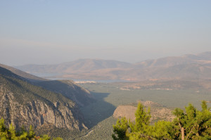Panorama su Itea