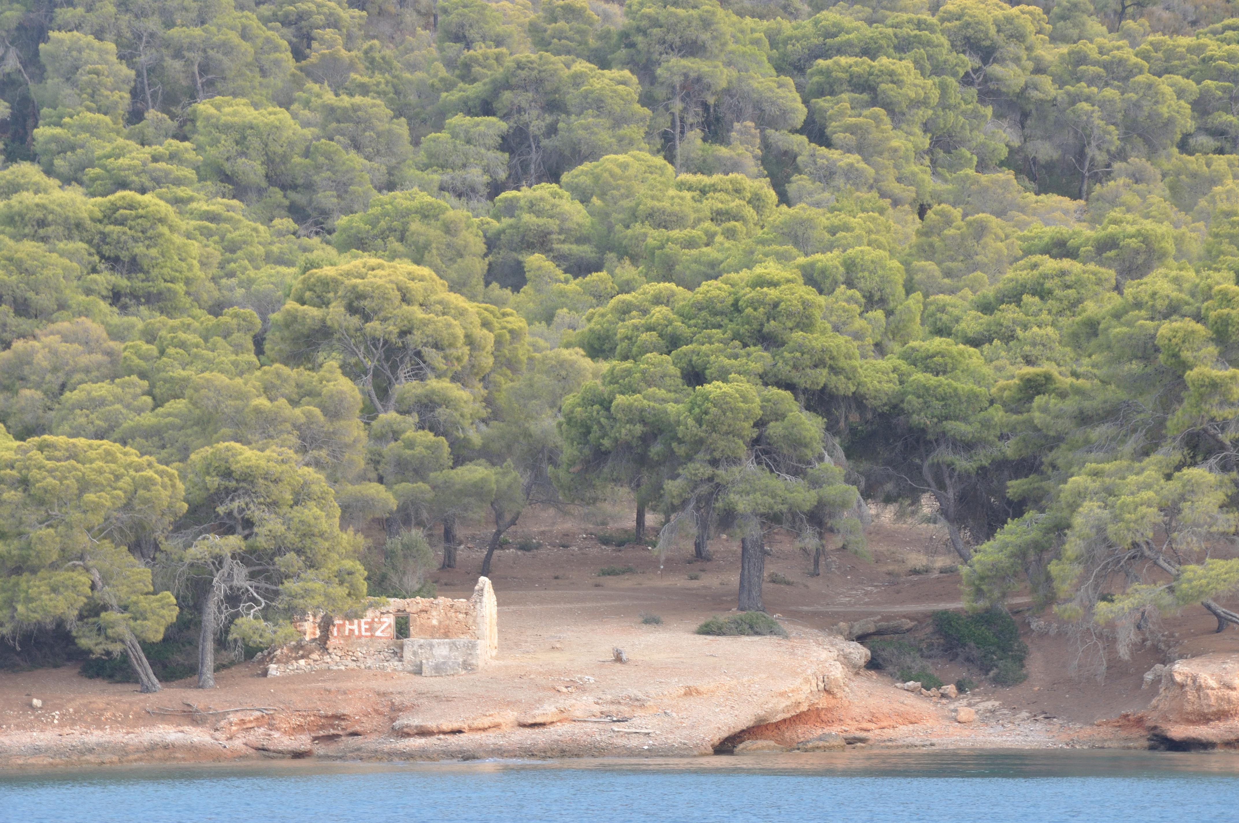 Spetses - baia Zogheria